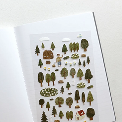 Suatelier Stickers - Forest