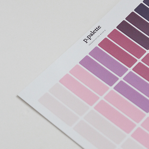 Palette Stickers - Summer