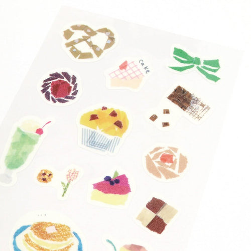 [My Favorite] Washi Sticker - Tea Time