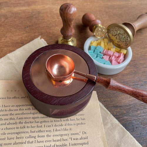 Wax Sealing Mini Stove & Melting Spoon