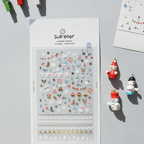 Suatelier Stickers - Winter love