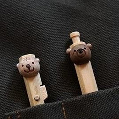Animal Wooden Mechanised Pen/Pencil