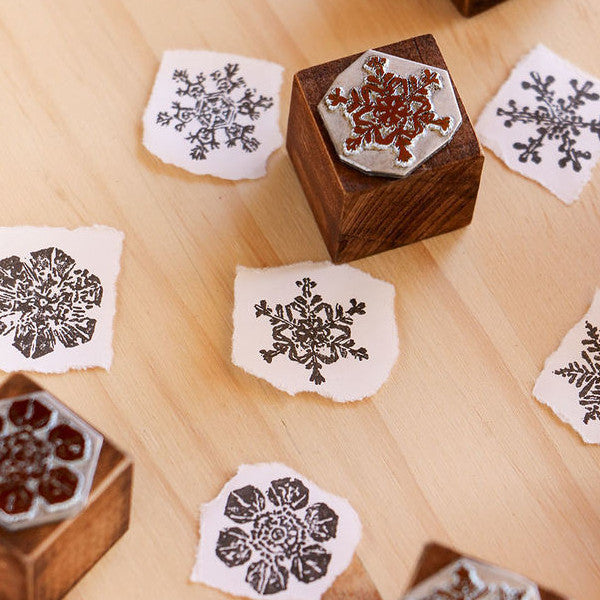 LCN Snowflakes Mineral Stamps
