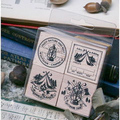 [Discontinued] LCN Camping Rubber Stamps