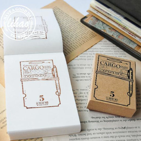 lihaopaper Notepaper Rubber Stamps