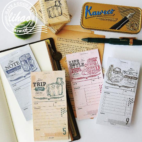 lihaopaper Journal Memo Pads