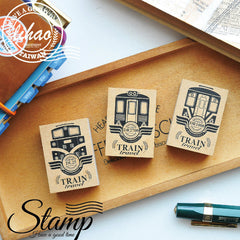 lihaopaper Taiwan Railway Trip Rubber Stamps