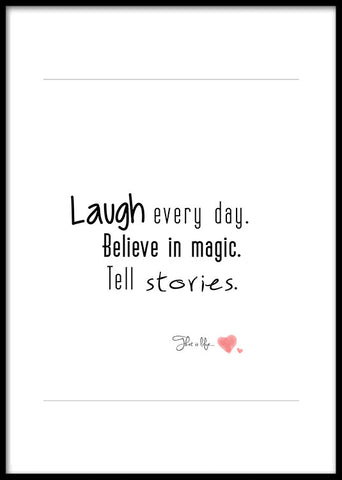 Laugh every day ...