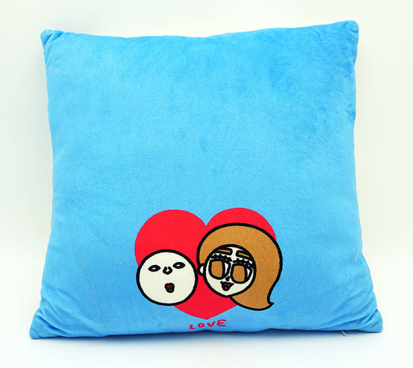 Plastic Thing 光頭仔 cushion