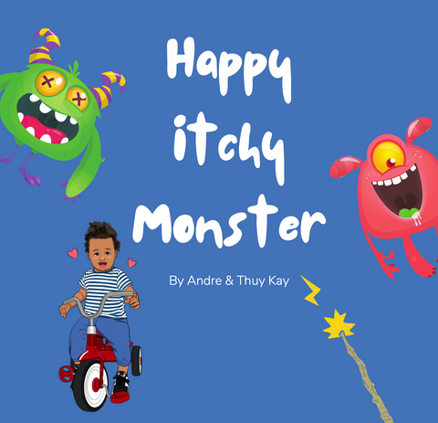 Happy Itchy Monster Book