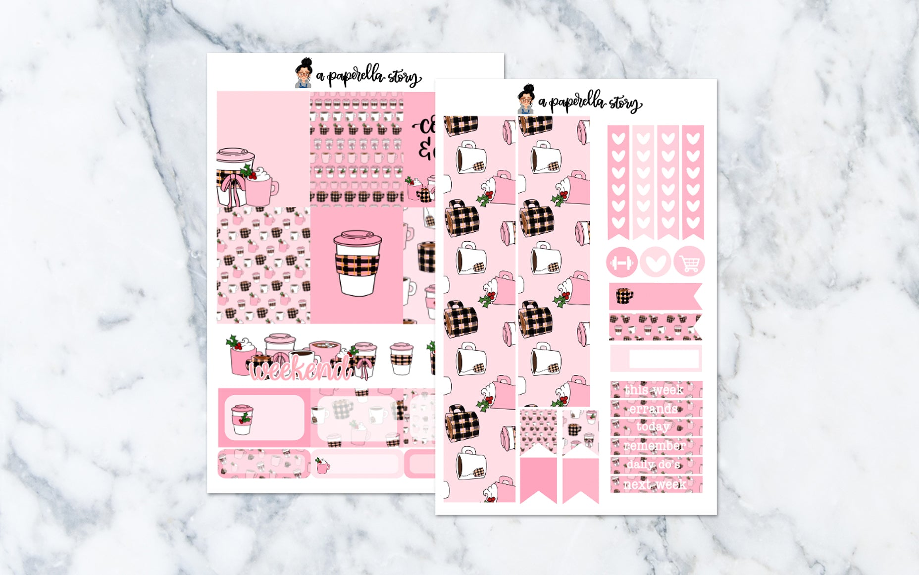 Holiday Pink Drinks Mini Kit