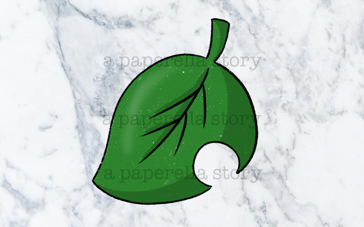 ACNH Leaf (Colour) - Digital File