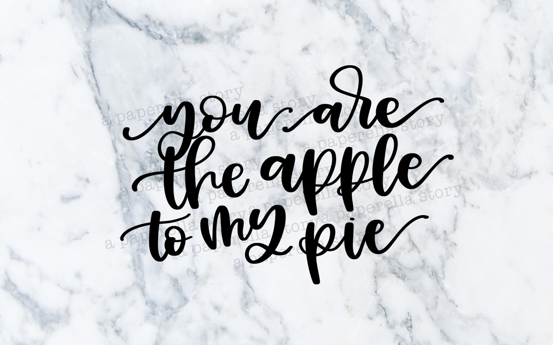 You're the Apple - Digital File