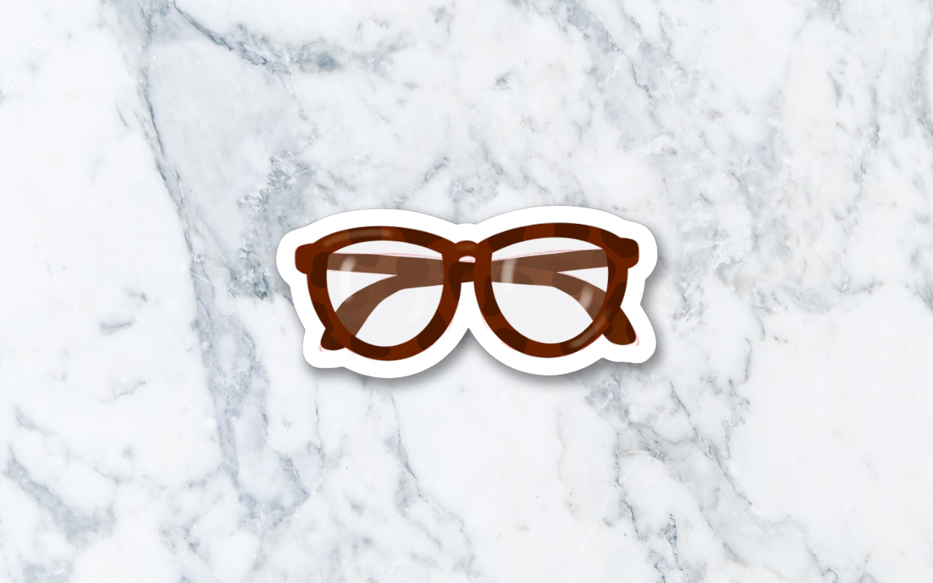 Glasses - Vinyl Die-cut Sticker