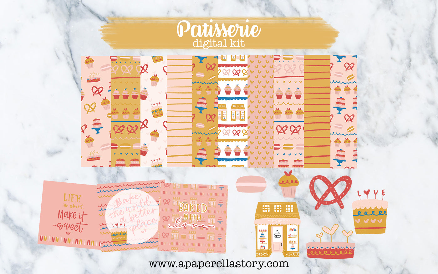 Patisserie - Digital Kit