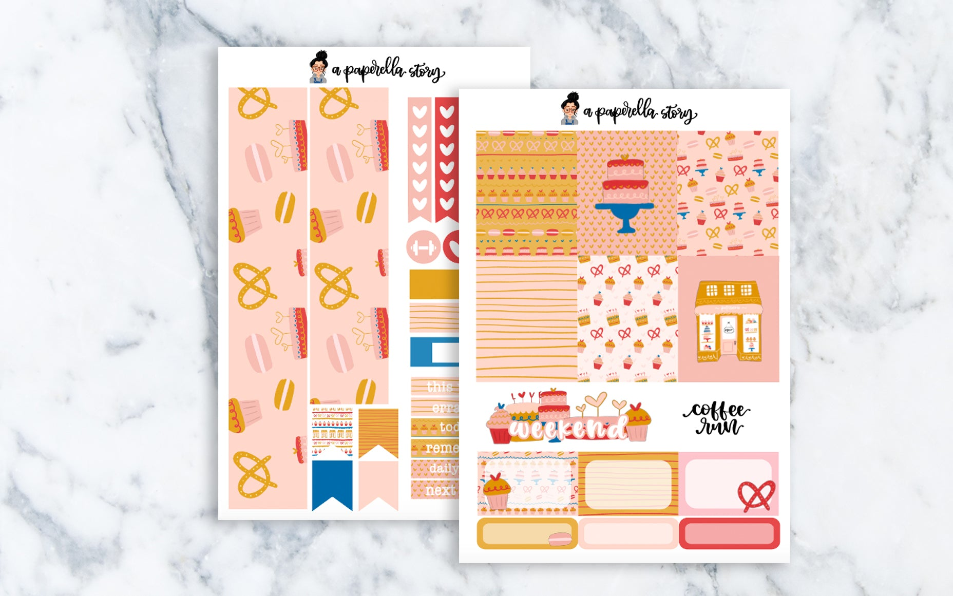 Patisserie Mini Sticker Kit