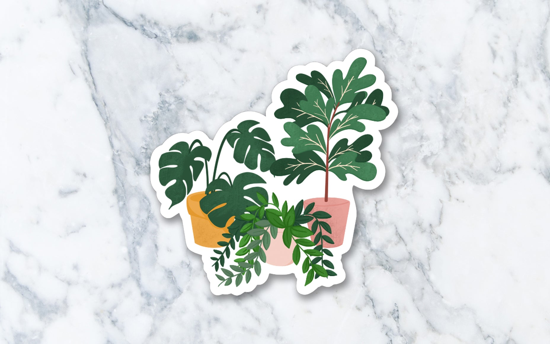 Plant Lover - Vinyl Die-cut Sticker