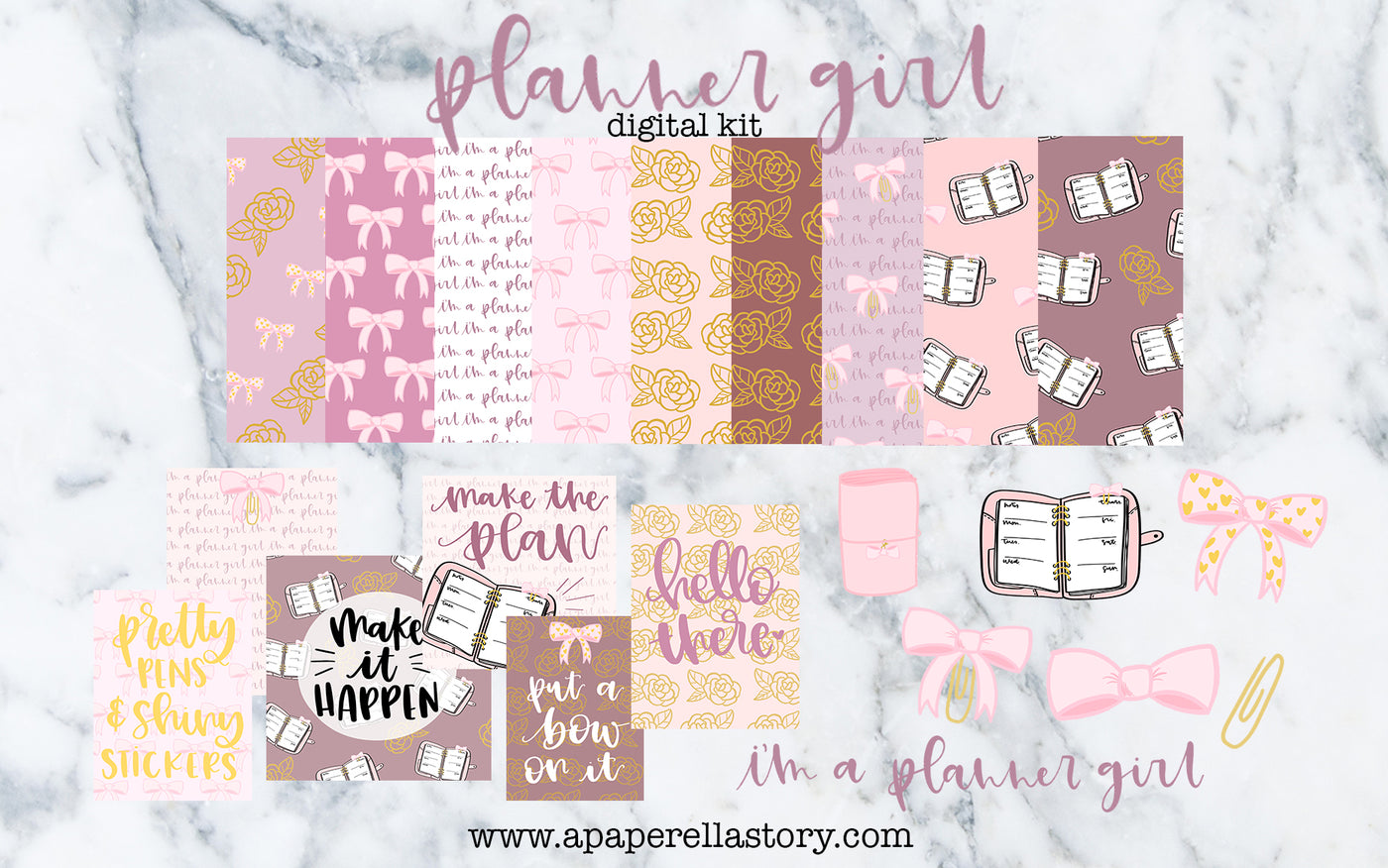 Planner Girl - Digital Kit