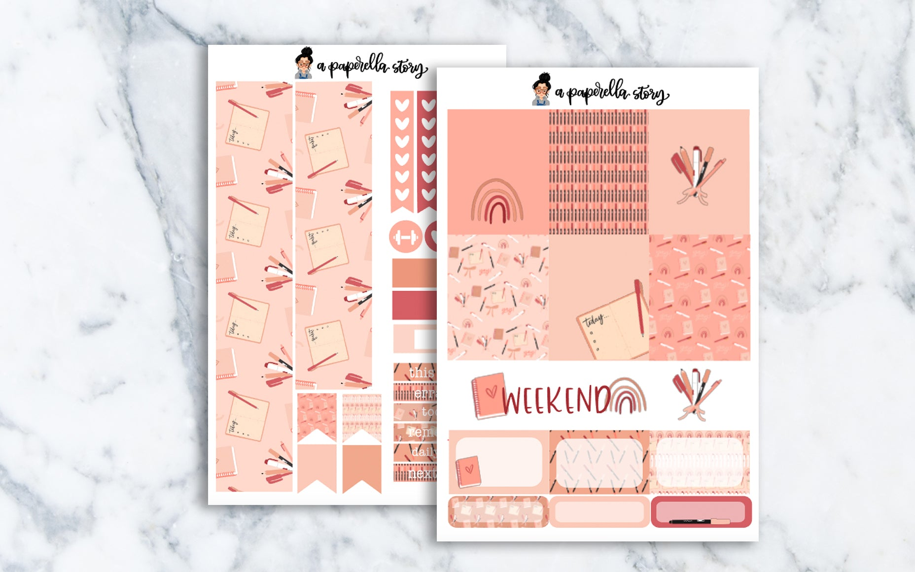 Planner Love Mini Sticker Kit