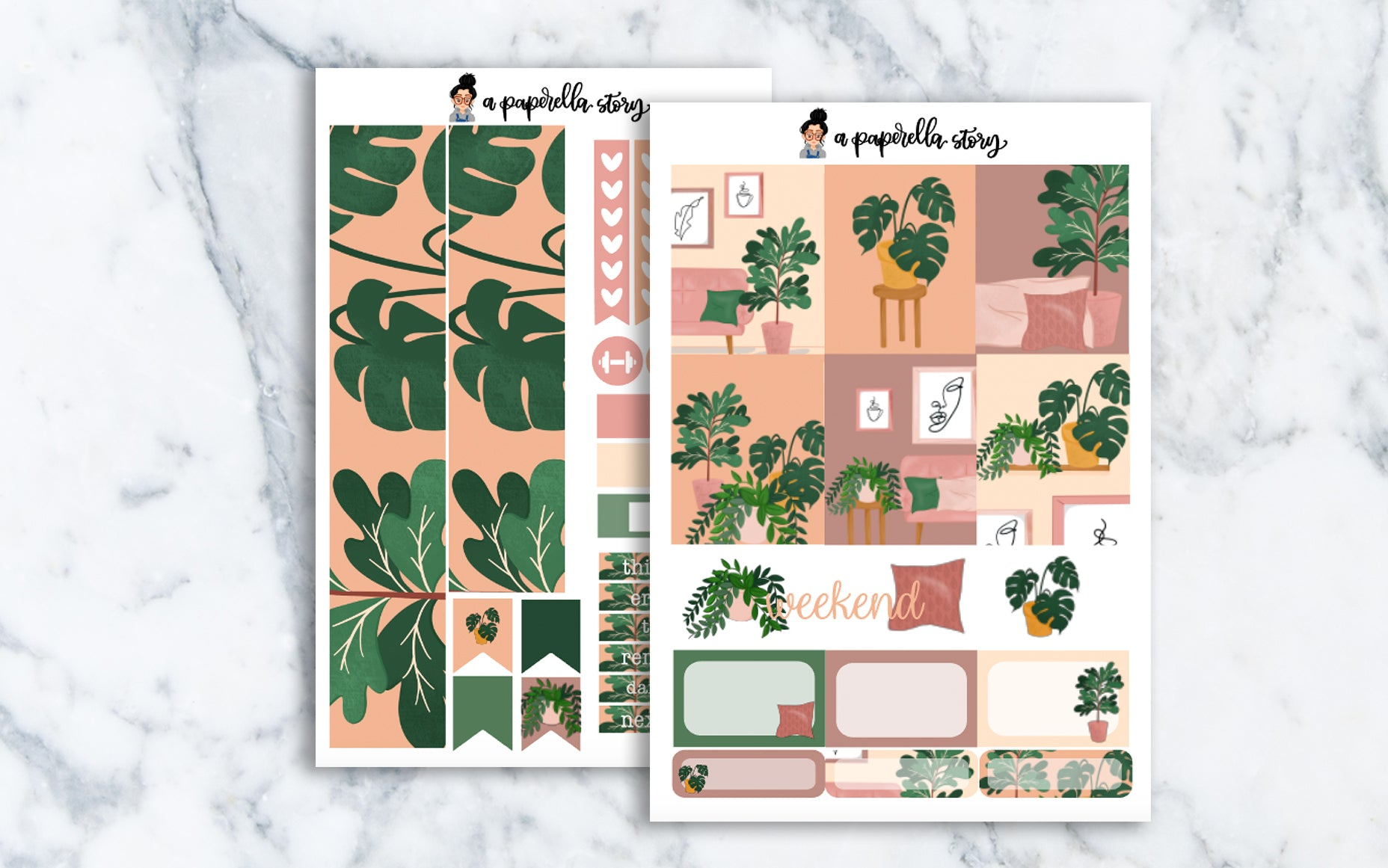 Plant Lady Mini Sticker Kit
