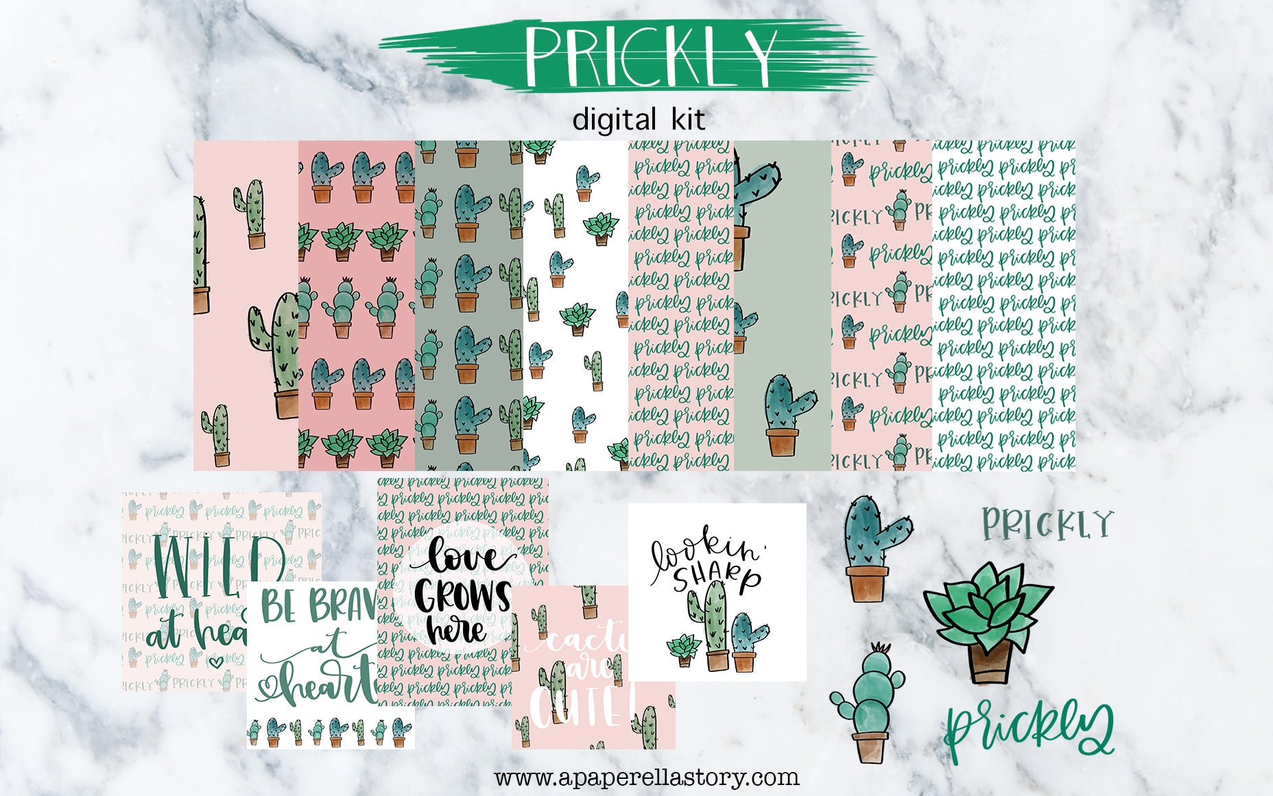 Prickly - Digital Kit