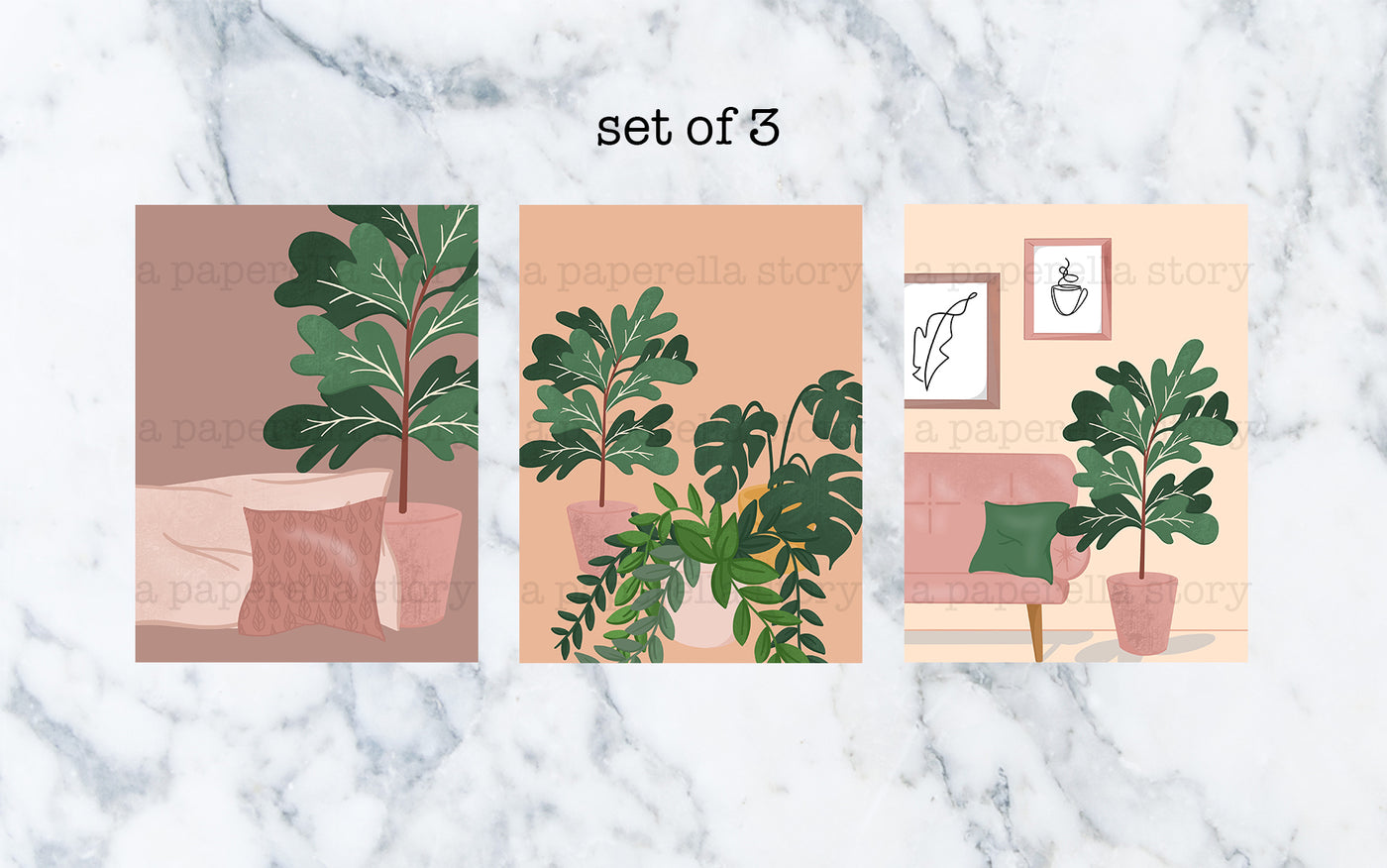 Plant Lady Art Print Set - Limited Edition