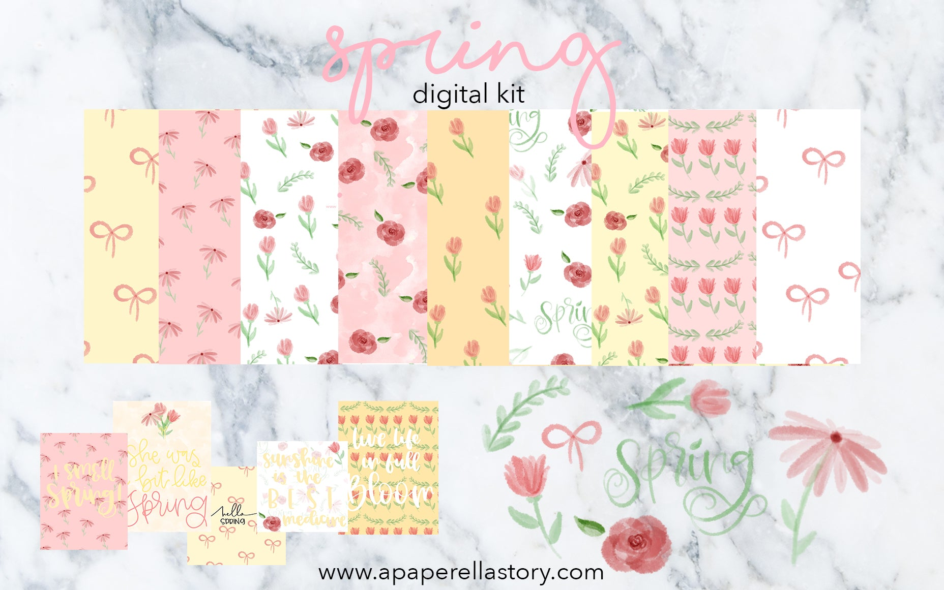 Spring - Digital Kit
