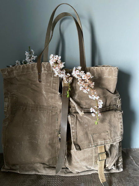 SHOPPER MILITARE [upcycle]