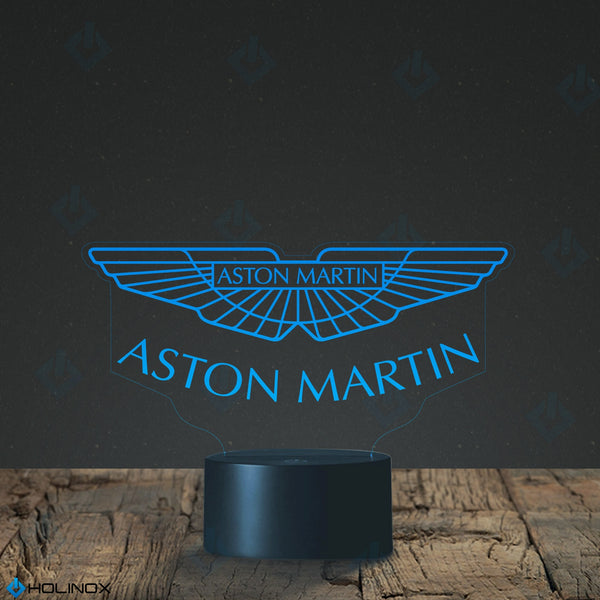 ASTON MARTIN Lighting Decor Gadget Lamp Awesome Gift (MT118) By Holinox