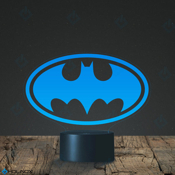 Batman Lighting Decor Gadget Lamp (MT014) By Holinox+FREE BONUSE - 18 in 1 Multi-purpose Credit Card Size Pocket Tool