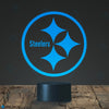Steelers Logo Design Lamp, Football logo lamp, Best Christmas Gift, Decoration lamp, 7 Color Mode, Awesome gifts (MT230)