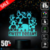 Sweet Dream Nighlight Lamp, kids nighlight, Best Christmas Gift, Decoration lamp, 7 Color Mode, Awesome gifts (MT261)