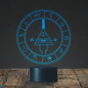 Gravity Falls Bill Cipher Wheel Lighting Decor Gadget Lamp, Awesome Gift (MT026) By Holinox