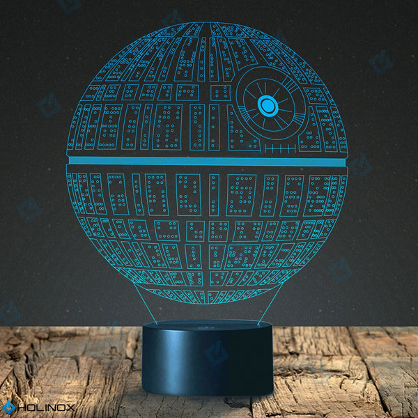 Holinox Star Wars DEATH STAR 3D  Lighting Gadget Lamp