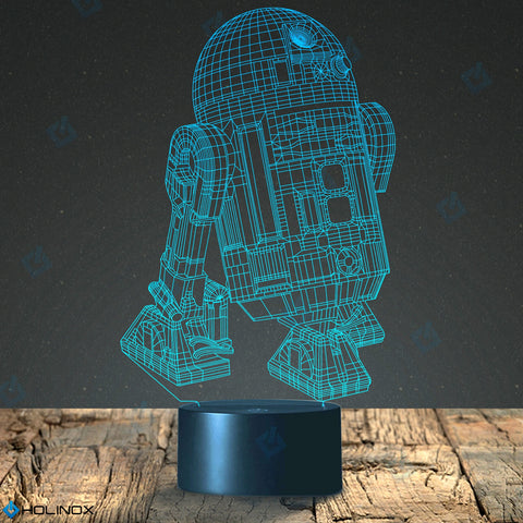 Holinox Star Wars R2D2 Lighting 3D Gadget Lamp