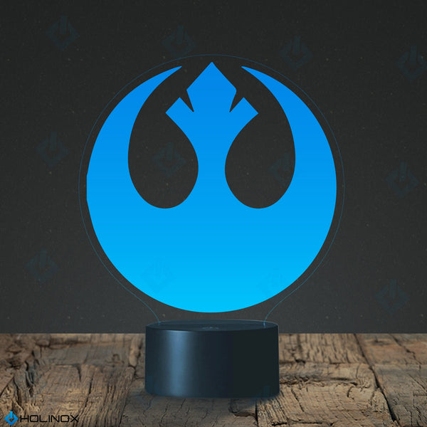 Star Wars Rebel Alliance Lighting Decor Gadget Lamp  (MT027B)