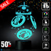 Holinox Star Wars BB-8 Lighting Gadget Lamp