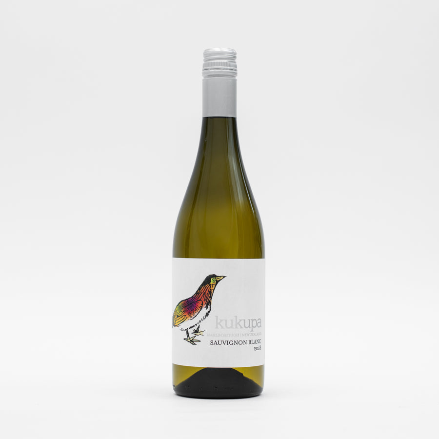 Kukupa Marlborough Sauvignon Blanc  2018