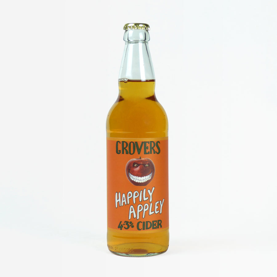 GROVER'S HAPPILY APPLEY CIDER 500ML