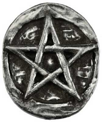 Pentacle Pocket Stone