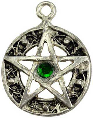 Celtic Knot Pentacle Amulet