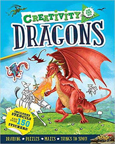 Creativity Dragons Coloring Book