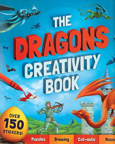 Dragons Creativity Book for Children