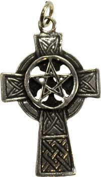 Celtic Cross Pentacle Pendant