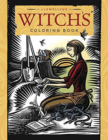 Witches Coloring Book