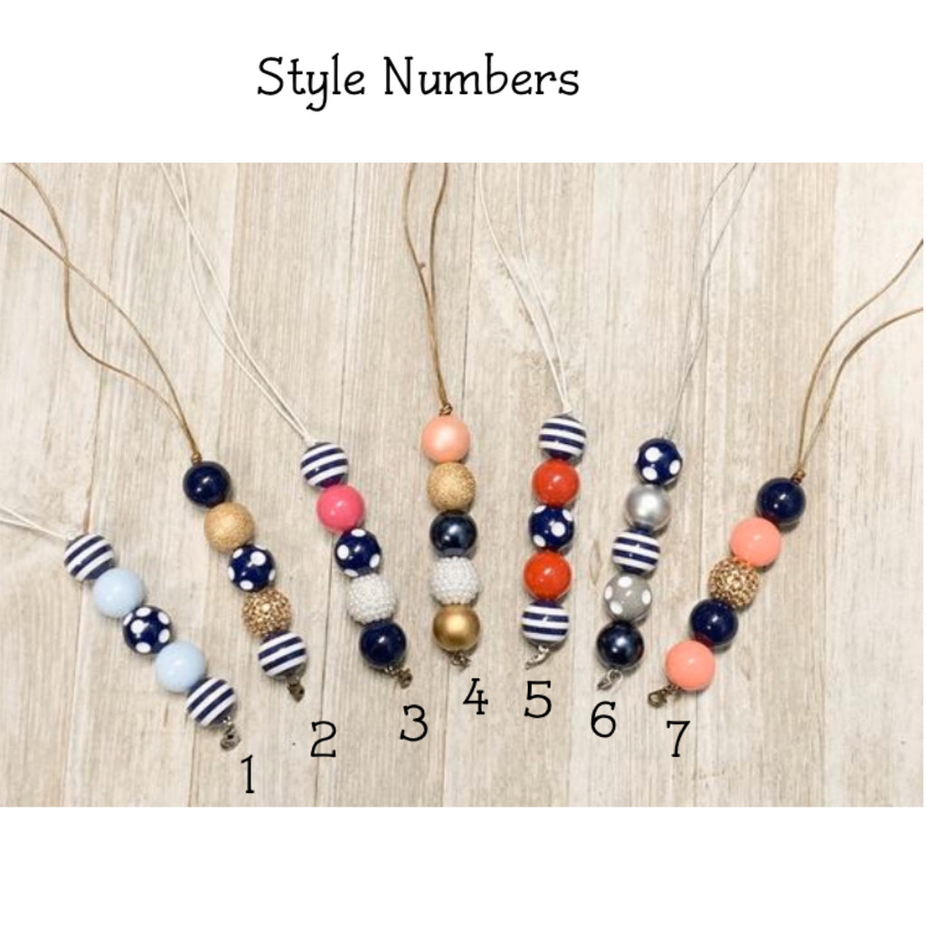 Nautical Beaded Lanyards