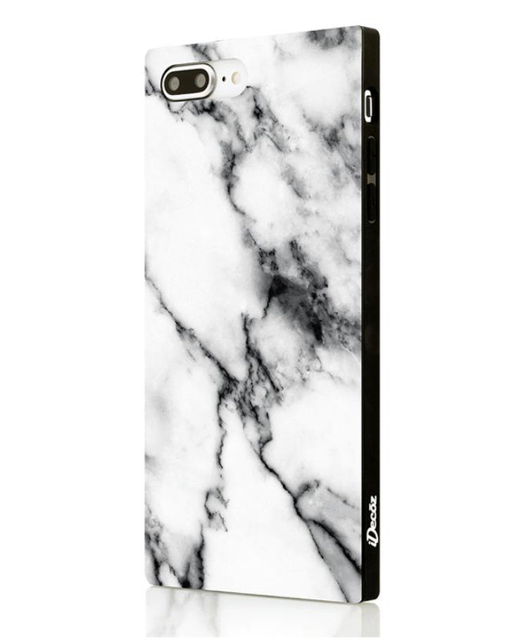 iPhone 7/8 Plus White Marble Case