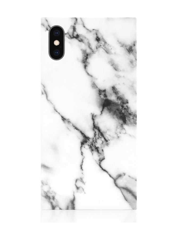 iPhone X/XS White Marble Case