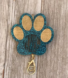 Paw Personalized Lanyard Pendants