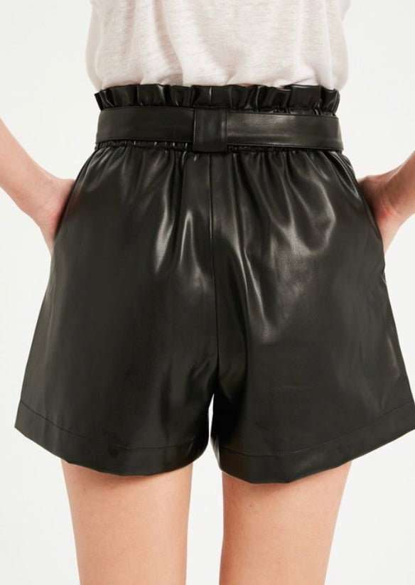 Faux Leather Shorts (S-XL)